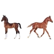 BREYER BEST OF BRITISH FOAL SET THOROUGHBRED & HACKNEY