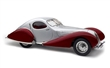 TALBOT LAGO COUPÉ T150 C-SS FIGONI & FALASCHI TEARDROP 1937 - 1939 SILVER / RED LIMITED EDITION 1500 PCS.