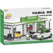 COBI 24580 ŠKODA FABIA R5 RACING GARAGE