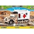 COBI 2518 SMALL ARMY WWII FORD V300S MAULTIER AMBULANCE