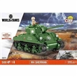 COBI 3007A SMALL ARMY WORLD OF TANKS M4 SHERMAN A1 / FIREFLY