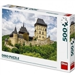 Puzzle Dino Hrad Karlštejn 500 dílků
