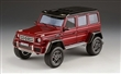 MERCEDES-BENZ G550 4x4 2014 RED
