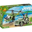 JEEP WILLYS A HELIKOPTÉRA SMALL ARMY COBI 24254