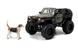 JEEP WRANGLER WITH DOG