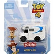 TOY STORY 4 FIGURKA WOODY S CAMPING CAR