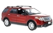 FORD EXPLORER XLT 2015 RED