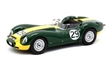 LISTER JAGUAR #29 STIRLING MOSS WINNER DAILY EXPRESS SPORTS CAR RACE SILVESTRONE 1958