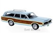 FORD LTD COUNTRY SQUIRE 1968 BLUE / WOOD
