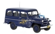 JEEP WILLYS STATION WAGON MICHIGAN STATE POLICE 1954