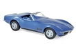CHEVROLET CORVETTE CONVERTIBLE 1969 BLUE METALLIC