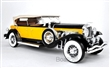 DUESENBERG MODEL SJ TOURSTER DERHAM 1932 ORANGE / BLACK