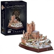 PUZZLE 3D CUBIC FUN DS0989H HRA O TRŮNY OF RED KEEP