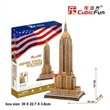 EMPIRE STATE BUILDING CUBICFUN 3D PUZZLE MC048H