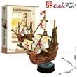 PUZZLE 3D CUBIC FUN T4031H PLACHETNICE SANTA MARIA 1492-1493
