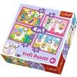 PUZZLE TREFL 34322 4 v 1 35,48,54 a 70 dílků LAMY
