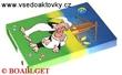 ŠKOLNÍ DESKY BOX A5 s gumičkou Křemílek a Vochomůrka