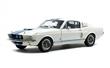SHELBY GT500 WIMBLEDON WHITE / BLUE STRIPES 1967