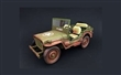 JEEP WILLYS US ARMY 1944 GREEN DIRTY VERSION LIMITED EDITION 240 PCS.