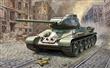 SOVĚTSKÝ STŘEDNÍ TANK T34/85 MOD 1944