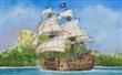 PIRATE SHIP BLACK SWAN
