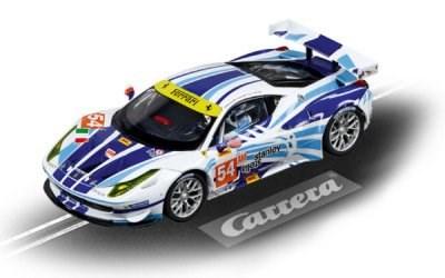 AUTO NA AUTODRÁHU CARRERA DIGITAL 132 30715 FERRARI 458 ITALIA GT2 AF CORSE No.54