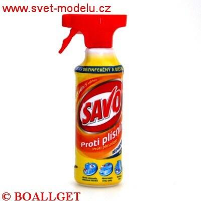 Savo proti plísním koupelna 450 ml pumpička