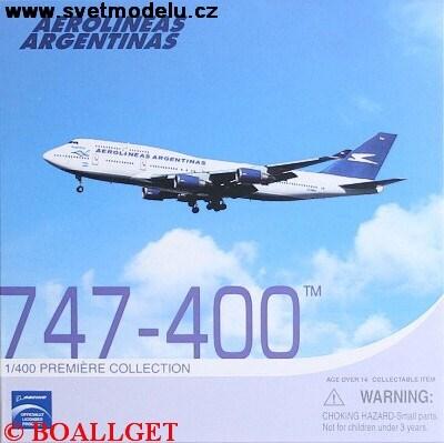 BOEING 747-400 AEROLINEAS ARGENTINAS