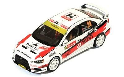 Mitsubishi Lancer EVO X 24 J.Ferrero-O.Burri Rally Monte Carlo 2012