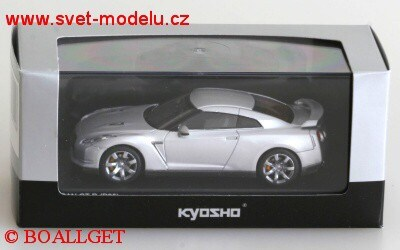 NISSAN GTR-R35 2008 ULTIMATE METAL SILVER
