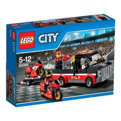 LEGO CITY 60084 PŘEPRAVNÍ KAMION NA ZÁVODNÍ MOTORKY