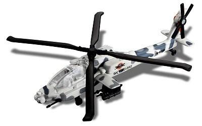 FRESH METAL FORCES SKY SQUAD AH-64 APACHE
