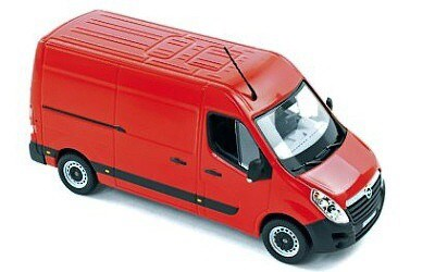 OPEL MOVANO 2010 RED