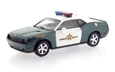 DODGE CHALLENGER SRT8 BROWARD COUNTY SHERIFF 2009