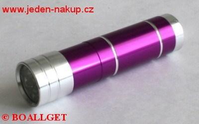 Baterka - svítilna 12 LED diodová