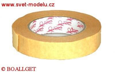 Lepicí páska 25 mm x 50 m krepová