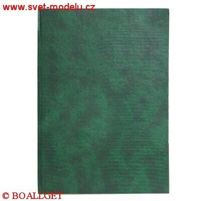 Záznamní kniha 14105 R- A4 čtverečkovaná, abecední rejstřík, tvrdé desky, 100 listů