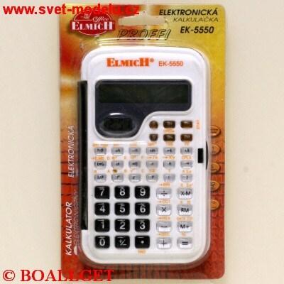 Kalkulačka Proffi EK-5550 elektronická blistr