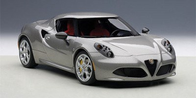 ALFA ROMEO 4C METALLIC GREY