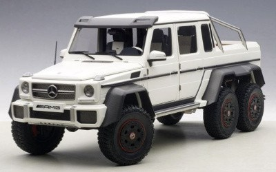 MERCEDES-BENZ G63 AMG 6X6 MATT WHITE