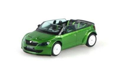 ŠKODA FABIA RS2000 CONCEPT CAR GREENHITE  abrex AB-143ABC-804QA