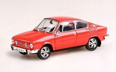 ŠKODA 110R COUPÉ 1980 RED