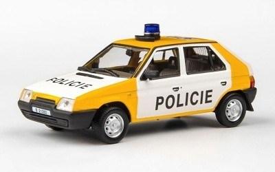 ŠKODA FAVORIT POLICIE 1991-1992 ABREX AB-143ABSX-708XA1