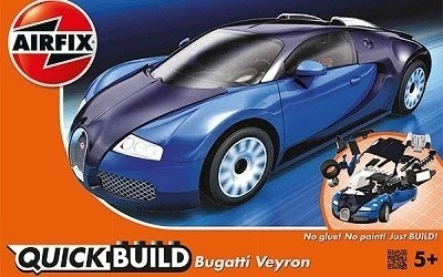 AIRFIX QUICK BUILD BUGATTI VEYRON