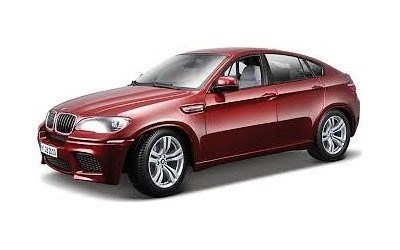 BMW X6 M RED