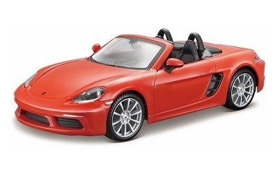 PORSCHE 718 BOXSTER CABRIO ORANGE