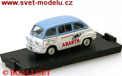 FIAT 600 MULTIPLA PUBBLICITARIO ABARTH ZURIGO CH 1960 LIMITED EDITION 1000PCS.