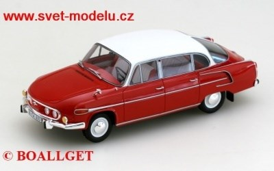 TATRA 603 1969 RED BOS MODEL 026