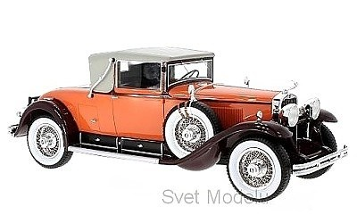 CADILLAC 341 B CONVERTIBLE 1929 ORANGE / BROWN