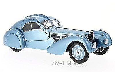 BUGATTI T57 SC ATLANTIC RHD 1938 BLUE